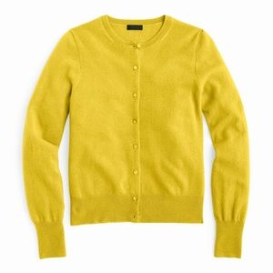 J. Crew Collection. 100% Cashmere Cardigan Sweater